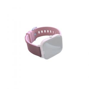 Curea de schimb din silicion pentru smart watch P8, pink [1]