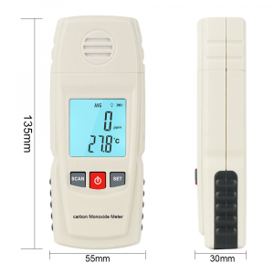 Detector monoxid de carbon Optimus AT 8805 interval 0-1000 ppm masurare temperatura [2]