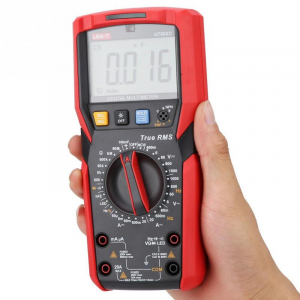Multimetru UT89XD, ac, dc, testare LED, RMS 6000, lanterna [2]