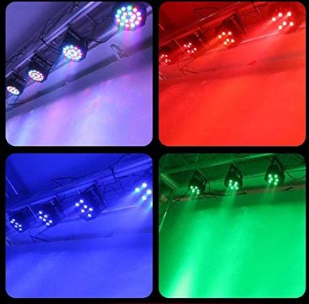 Proiector cu lumini RGB 18 culori joc de lumini pentru petreceri, cluburi [5]