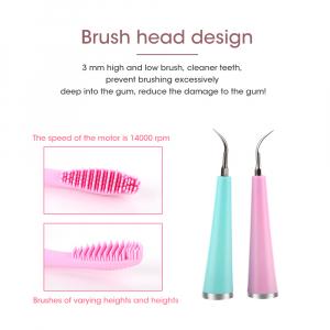 Periuta de dinti cu pulsatii sonice multifunctionala MC01 - pink [3]