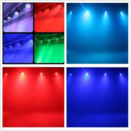 Proiector cu lumini RGB 18 culori joc de lumini pentru petreceri, cluburi [1]