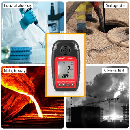 Detector Hidrogen Sulfurat (H2S) Wintact WT8822 [6]