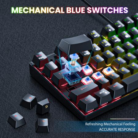 Set gaming profesional tastatura G26 si mouse CW905 Onikuma RGB [5]