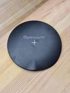 Incarcator rapid ultraslim wireless Optimus AT 61 15W Qi (inductie), type-C, negru [1]