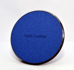 Incarcator rapid ultraslim wireless Optimus AT BC09 10W Qi (inductie), blue jeans [1]