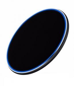 Incarcator rapid ultraslim wireless Optimus AT BC09 10W Qi (inductie), black [3]