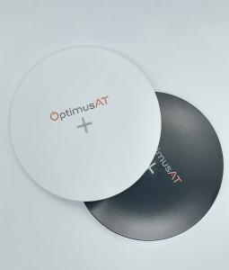 Incarcator rapid ultraslim wireless Optimus AT 61 15W Qi (inductie), type-C, negru [7]
