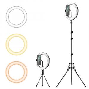 Kit starter vlogging premium - suport telefon + lampa circulara fotografica inaltime 2,1 metri [4]