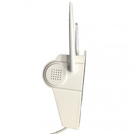Lampa de perete cu camera de supraveghere IP WIFI Optimus AT D2-R fullHD 1920*1080P 2 mp, night vision, aplicatie telefon, alb [9]