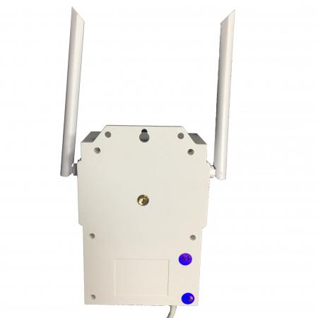 Lampa de perete cu camera de supraveghere IP WIFI Optimus AT D2-R fullHD 1920*1080P 2 mp, night vision, aplicatie telefon, alb [10]