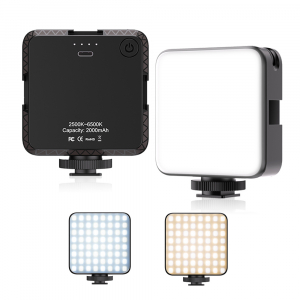 Lampa LED cu acumulator 2000 mAh, lumina calda/rece 2500-6500K, FL03 [0]