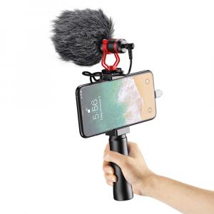 Microfon profesional, ultraportabil, directional, cu atenuator zgomotor de fundal, prindere tip 1/4 [2]