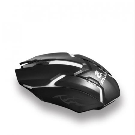 Mouse Gaming  MS-318, 2 butoane, RGB , DPI ajustabil pana la 800- negru [2]