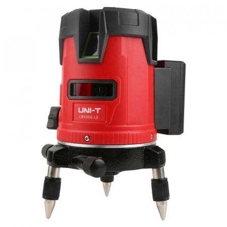 Nivela laser 360° Uni-T LM530, dioda verde, 4 puncte, 3 linii, 510-515nm, ±3mm/10m, autonivelare 3°±1° [0]