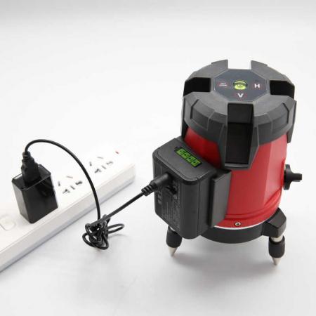 Nivela laser 360° Uni-T LM530, dioda verde, 4 puncte, 3 linii, 510-515nm, ±3mm/10m, autonivelare 3°±1° [1]
