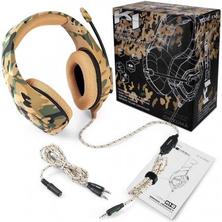 Casti Gaming DC-Onikuma K1, Microfon Noise Cancelling, Zero Ear Pressure, Multi Platform [1]