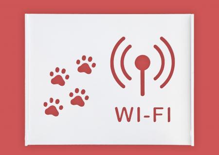 Suport Router Wireless Cat 36x28x9 cm, alb, pentru mascare fire si echipament Wi-Fi, cu posibilitate montare pe perete Optimus AT Home [1]