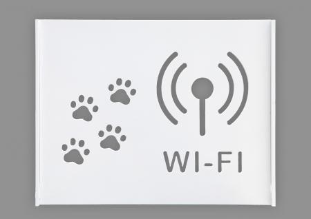 Suport Router Wireless Cat 60x40x10 cm, alb, pentru mascare fire si echipament Wi-Fi, cu posibilitate montare pe perete Optimus AT Home [1]
