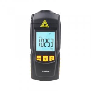 Tahometru digital fara contact Optimus AT 8900, masurare viteza rotatie pe minut RPM, negru [4]