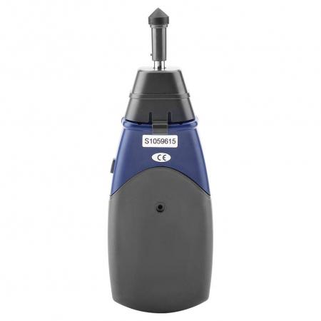 Tahometru digital 2 in 1 cu/fara contact Optimus AT 6236, masurare viteza rotatie pe minut RPM, albastru [3]