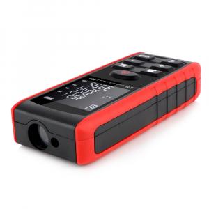 Telemetru profesional Optimus AT e40 functii multiple, 5 cm-40 m, distanta, aria, volum, pitagora, 99 memorii, toleranta 1,5mm [1]