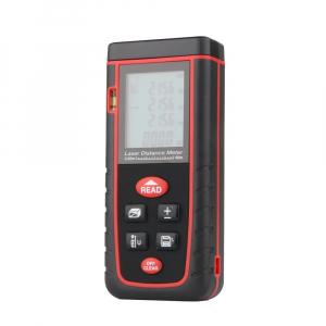 Telemetru profesional Optimus AT W40 functii multiple, 5 cm-40 m, distanta, aria, volum, pitagora, nivela, 30 memorii,  toleranta 2mm [2]