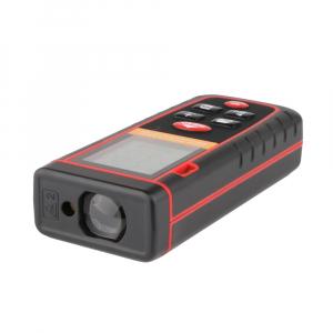 Telemetru profesional Optimus AT W80 functii multiple, 5 cm-80 m, distanta, aria, volum, pitagora, boloboc, 30 memorii,  toleranta 2mm [1]