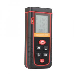 Telemetru profesional Optimus AT W80 functii multiple, 5 cm-80 m, distanta, aria, volum, pitagora, boloboc, 30 memorii,  toleranta 2mm [5]