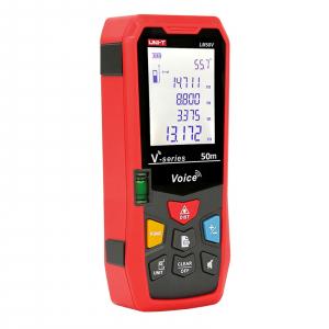 Telemetru Uni-T LM50V functii multiple, 5 cm-50 m, distanta, aria, volum, pitagora, boloboc, toleranta 1,5mm [0]