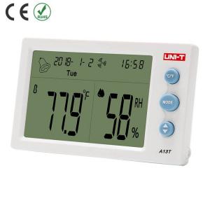 Termohigrometru digital A13T UNI-T, alarma, ceas, statie meteo [1]