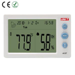 Termohigrometru digital A13T UNI-T, alarma, ceas, statie meteo [0]
