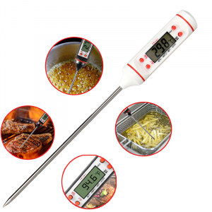 Termometru interval -50°C + 300°C pentru alimente, lichide, gratar, , model 3186 [0]