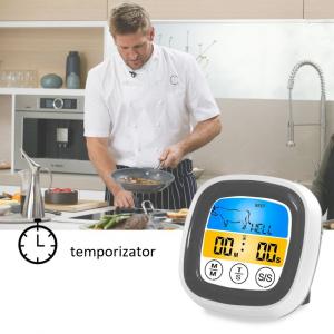 Termometru cu ecran tactil si sonda pentru alimente, gratar, interval -20 +300°C, model T7189 [2]