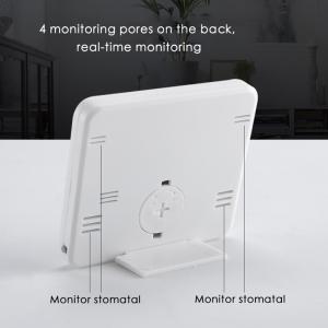 Termometru higrometru digital de casa cu ceas, termohigrometru [3]