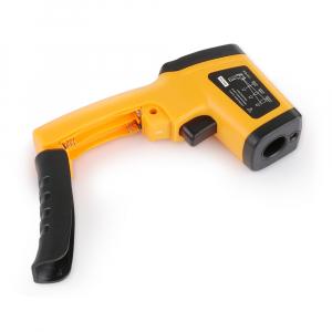 Termometru industrial Optimus AT 420 interval -50 +420°C cu afisaj luminat, portocaliu negru [3]