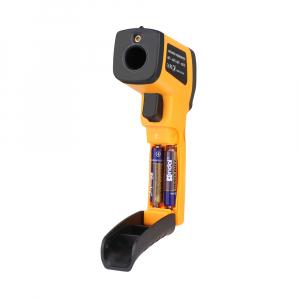 Termometru industrial Optimus AT 420 interval -50 +420°C cu afisaj luminat, portocaliu negru [4]