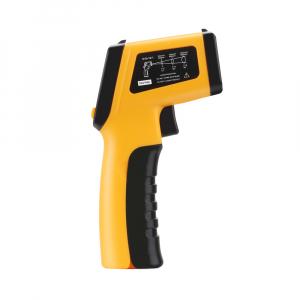 Termometru industrial Optimus AT 420 interval -50 +420°C cu afisaj luminat, portocaliu negru [1]
