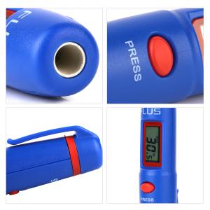 Termometru multifunctional tip stilou Optimus AT 86 interval -50 +260°C cu afisaj luminat, rosu albastru [4]