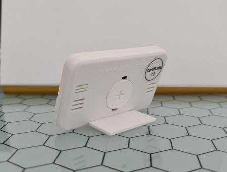 Termometru Higrometru pentru frigider, interval -10 +70°C, model 3228 H alb / negru [6]