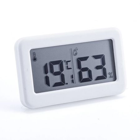 Termometru Higrometru pentru frigider, interval -10 +70°C, model 3228 H alb / negru [2]