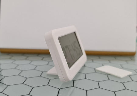 Termometru Higrometru pentru frigider, interval -10 +70°C, model 3228 H alb / negru [5]