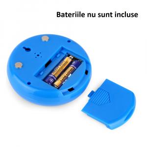 Termometru si Higrometru de interior Optimus AT 3305 digital, multifunctional, albastru [1]