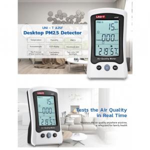 Tester calitate aer - particule PM25, Formaldehida (H2CO), termometru - Uni-T A25F [1]