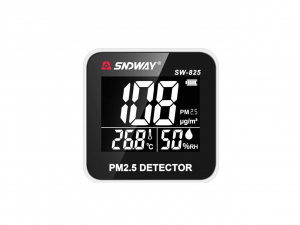 Tester calitate aer - particule PM25, termometru, umiditate - SNDWAY 825 [3]