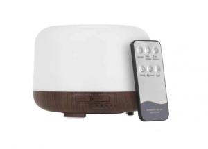 Umidificator Aromaterapie Lampa de veghe cu telecomanda Optimus AT Home™ 1552 rezervor 500ml, cu ultrasunete, 25-30m², purificator aer, lemn inchis [0]