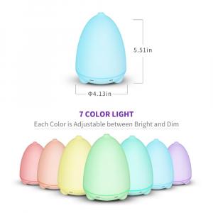 Umidificator Aromaterapie Lampa de veghe Optimus AT Home™ 1731 rezervor 100ml ultrasunete 15-20m² purificator aer difuzor aroma [6]