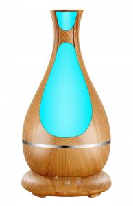 Umidificator Aromaterapie Lampa de veghe Optimus AT Home™ 1818 cu ultrasunete, 25m², purificator aer, difuzor, rezervor 400ml, light wood [0]