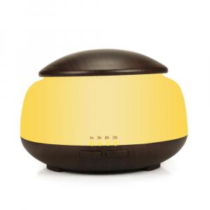 Umidificator Aromaterapie Lampa de veghe Optimus AT Home™ 1850 rezervor 300ml, ultrasunete, 20-30m², purificator aer, difuzor, dark wood [0]