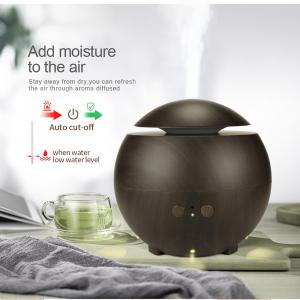 Umidificator Aromaterapie Optimus AT Home™ 1741 rezervor 600ml, ultrasunete, 20-60m², purificator aer, difuzor, dark wood [3]